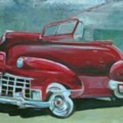 Cadillac 47 Art Print