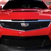 Cadillac Ats V-series Art Print