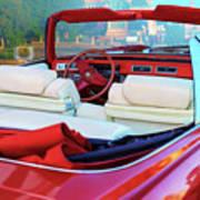 Cadillac Convertible -  A Car Class  Art Print
