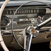 Cadillac Dash Art Print