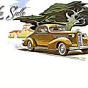 Cadillac Lasalle Art Print
