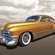 Cadillac Sedanette 1949 Art Print