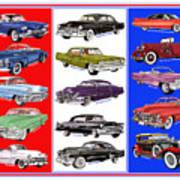 15 Cadillacs The Poster Art Print