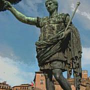 Caesar Proclaims Art Print