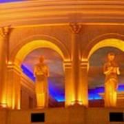 Caesar's Lobby - A C Art Print