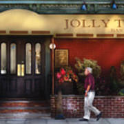Cafe - Jolly Trolley Art Print