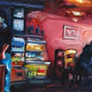 Cafe Boulange Art Print