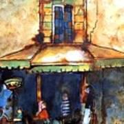 Cafe De L'apres-midi Art Print