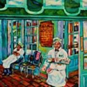 Cafe Du Monde Revisited  Art Print