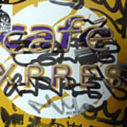 Cafe Express Art Print