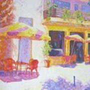 Cafe in Spain Art Print