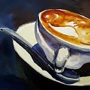Cafe Noisette Art Print