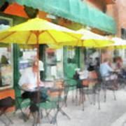 Cafe Pizzaria Art Print