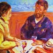 Cafe Renoir Art Print