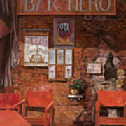 caffe Nero Art Print
