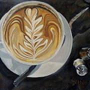 Caffe Vero Cappie Art Print