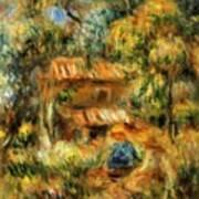 Cagnes Landscape 1 Art Print