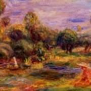 Cagnes Landscape 1908 Art Print