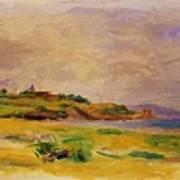 Cagnes Landscape 1910 2 Art Print
