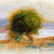 Cagnes Landscape 1910 Art Print