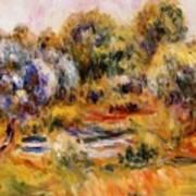 Cagnes Landscape 2 Art Print