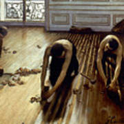 Caillebotte: Planers, 1875 Art Print