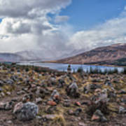 Cairns Of Loch Loyne Art Print