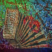 Cajun Accordian Art Print