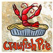 Cajun Food Trio White Border Art Print