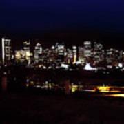 Calgary Skyline 2016 Art Print