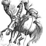 Calgary Stampede Art Print