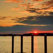 Calibogue Sound Sunset Art Print