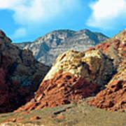 Calico Basin Nevada Art Print