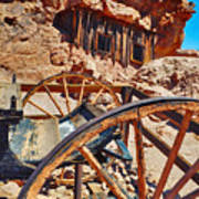 Calico Ghost Town Mine Art Print
