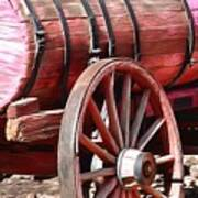 Calico Ghost Town Water Wagon Art Print