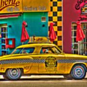 Caliente Cab Co Art Print