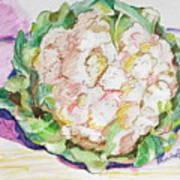 Califlower Art Print