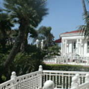 California Balcony Art Print