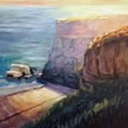 California Cliffs Art Print