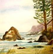 California Coast Art Print