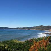 California Coast Line - Pismo Beach Art Print