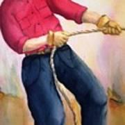 California Cowboy Art Print