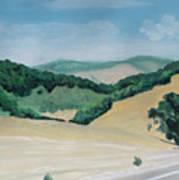 California Highway Art Print