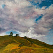 California Hills Art Print