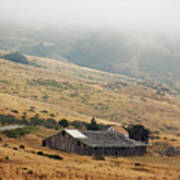California Homestead - Rural Scene Art Print