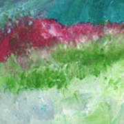 California Landscape- Expressionist Art By Linda Woods Art Print