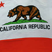 California Republic Flag Art Print