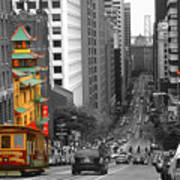 California Street San Francisco Art Print