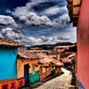 Calle De Colores Art Print