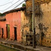 Calle En Suchitoto Art Print